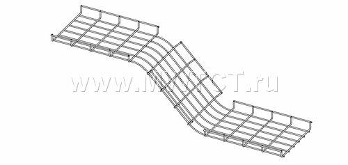 Варианты изготовления внешнего и внутреннего углов проволочных лотков